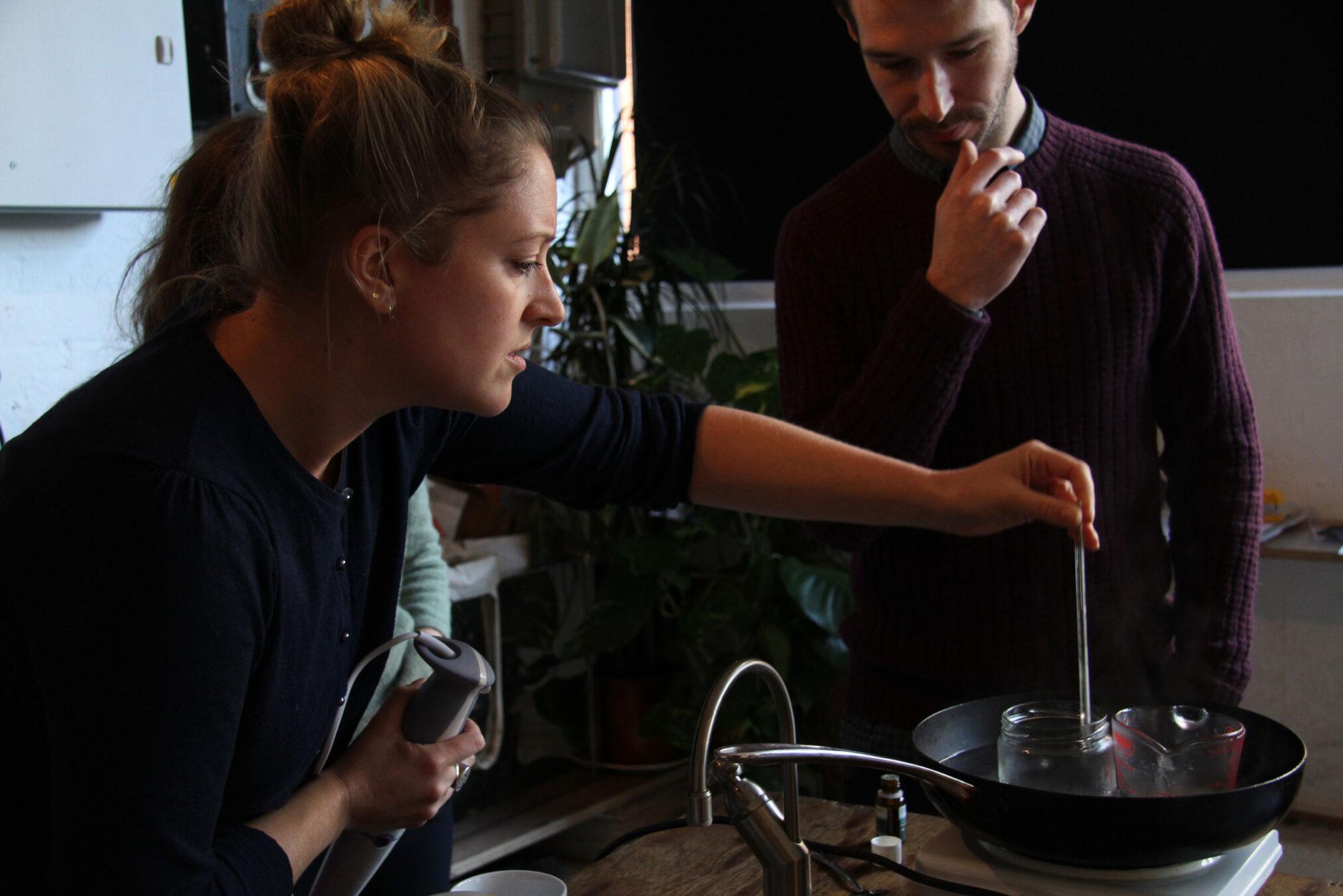 Compost cosmetics - interactive sensory workshop