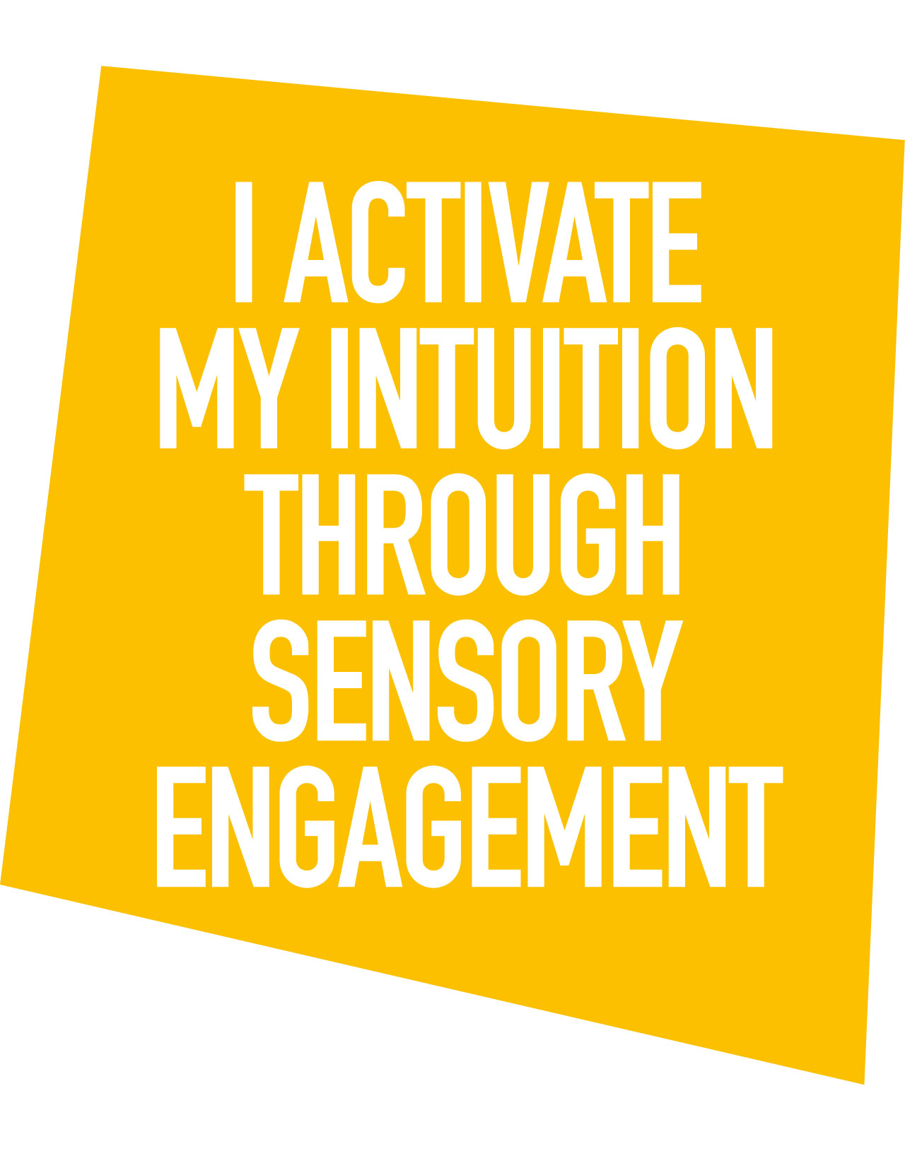 How I Activate My Intuition through Sensory Engagement